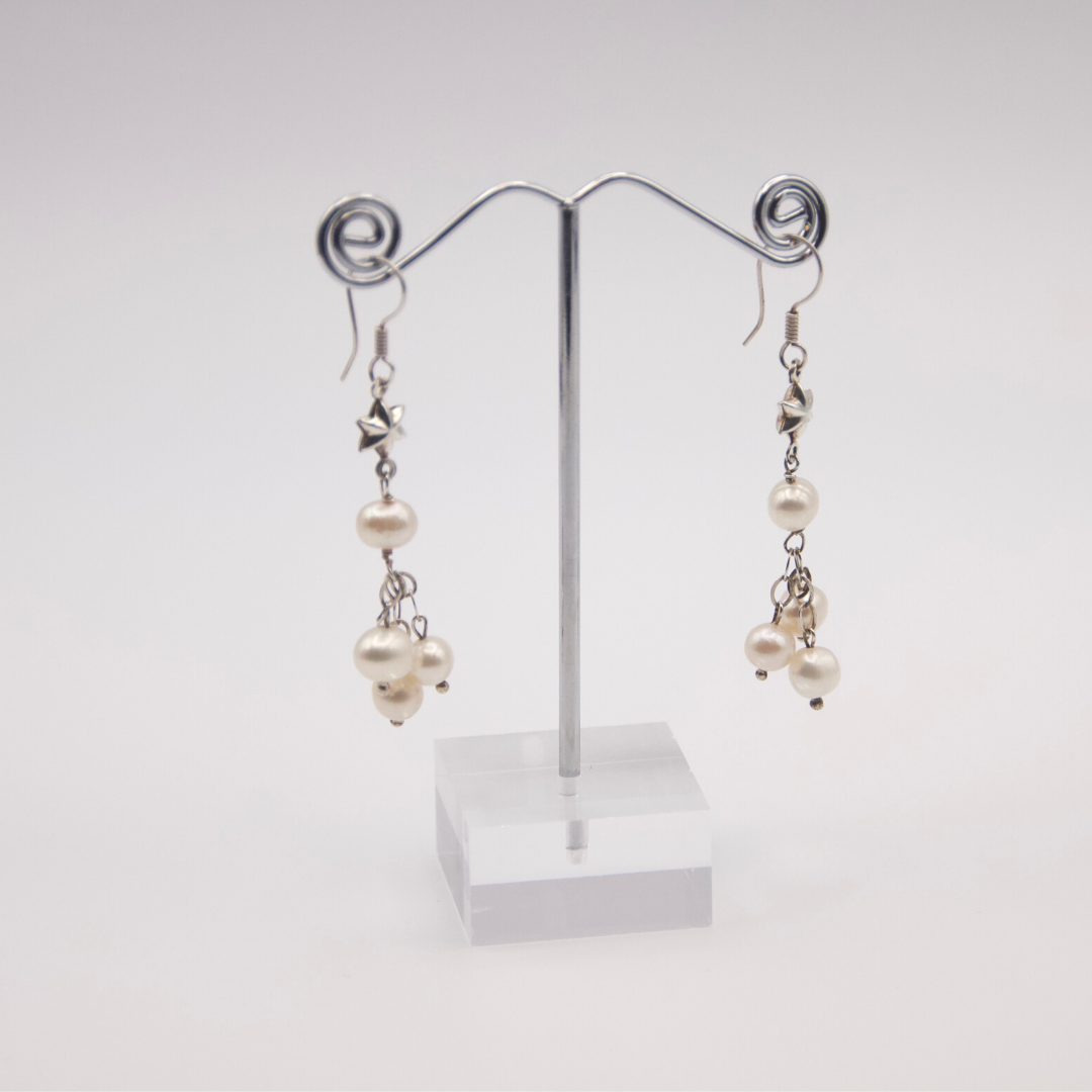 Sterling Silver Plated Earrings