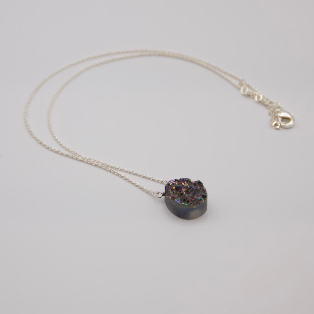 Multi-Colour Stone Necklace