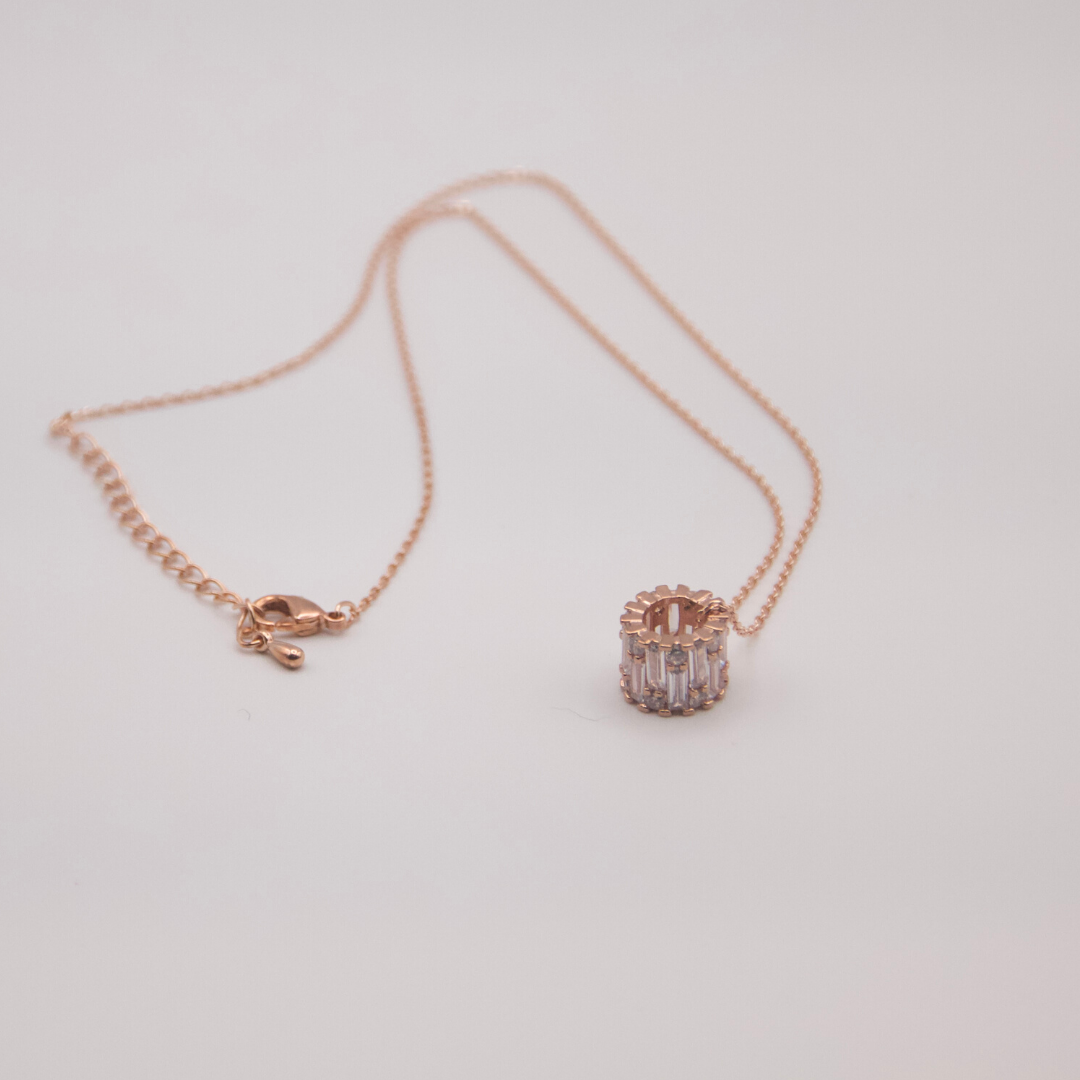 Rose Ring Necklace