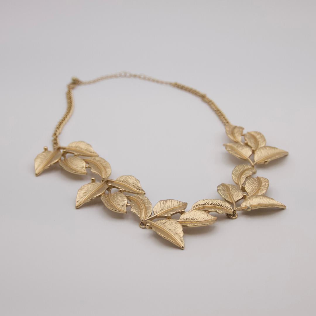 Gold Leaf Choker