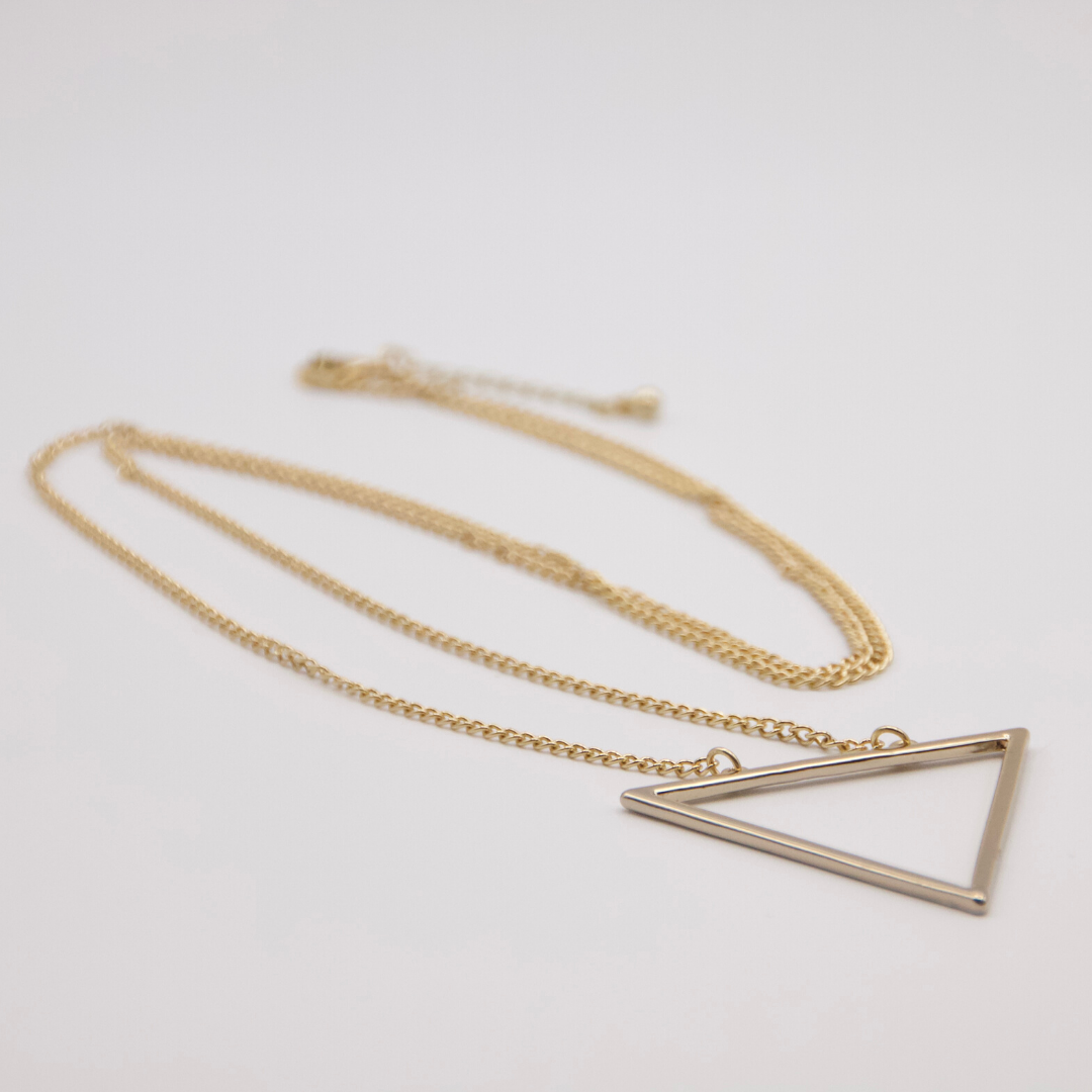 True Triangle Necklace