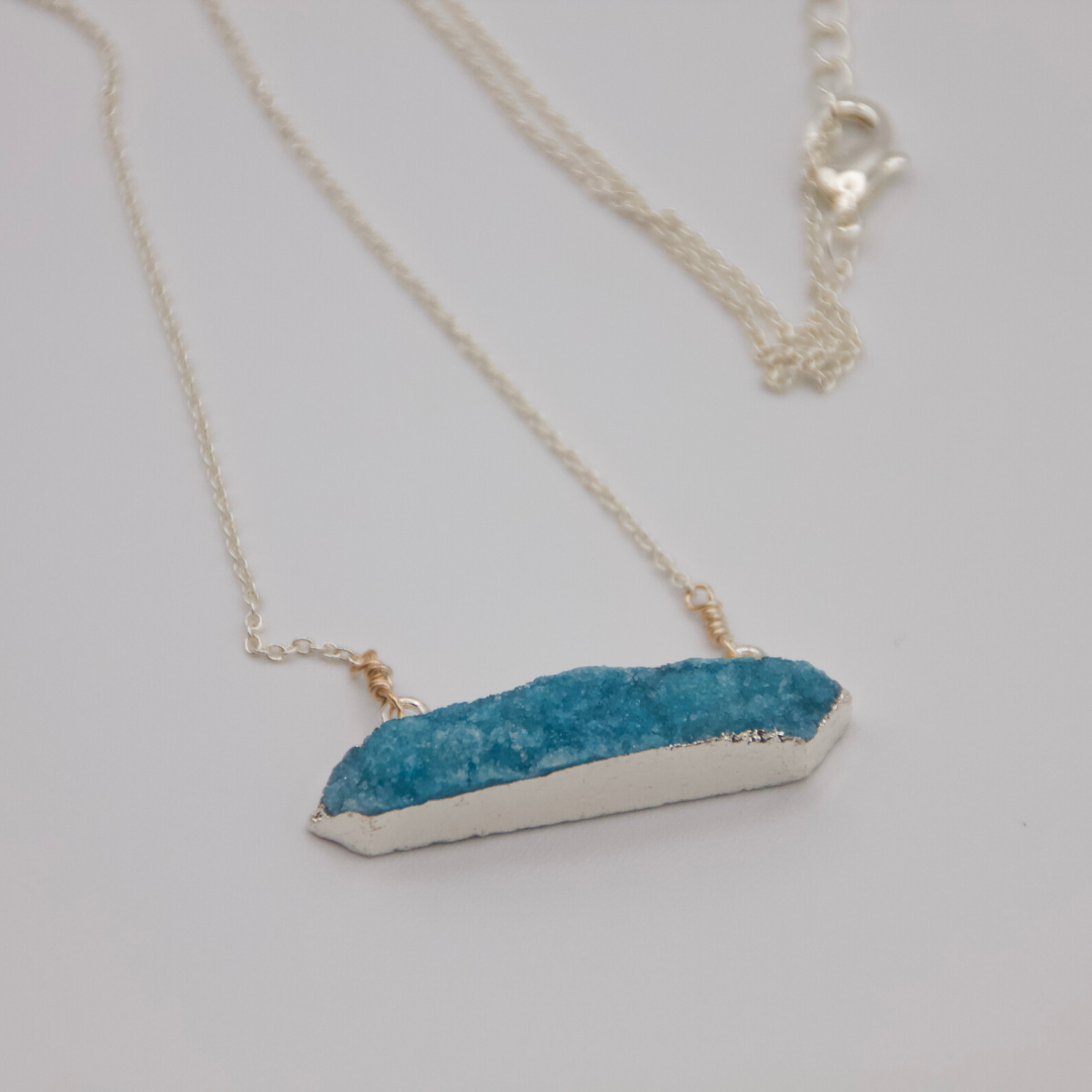 Aqua Luminescence Necklace