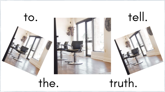 Consultation Confessional – the truth is always best!