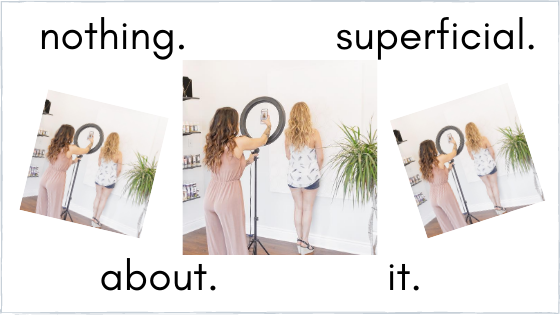 Beauty –  There's nothing 'superficial' about it!