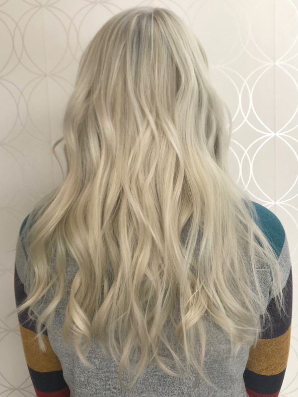Platinum Blonder Haircolour