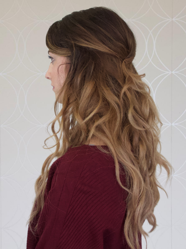 """20"""" Ombre Hand-tied Weft Extensions"""