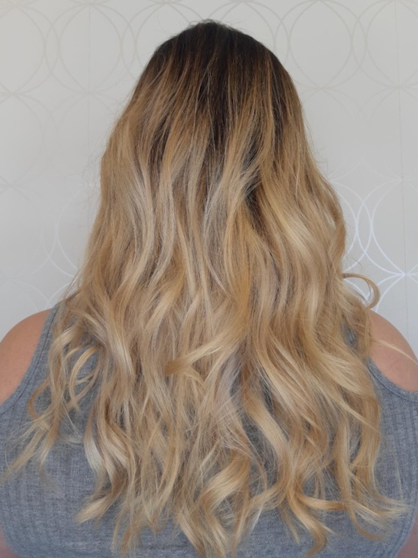 Long Blonde Ombre