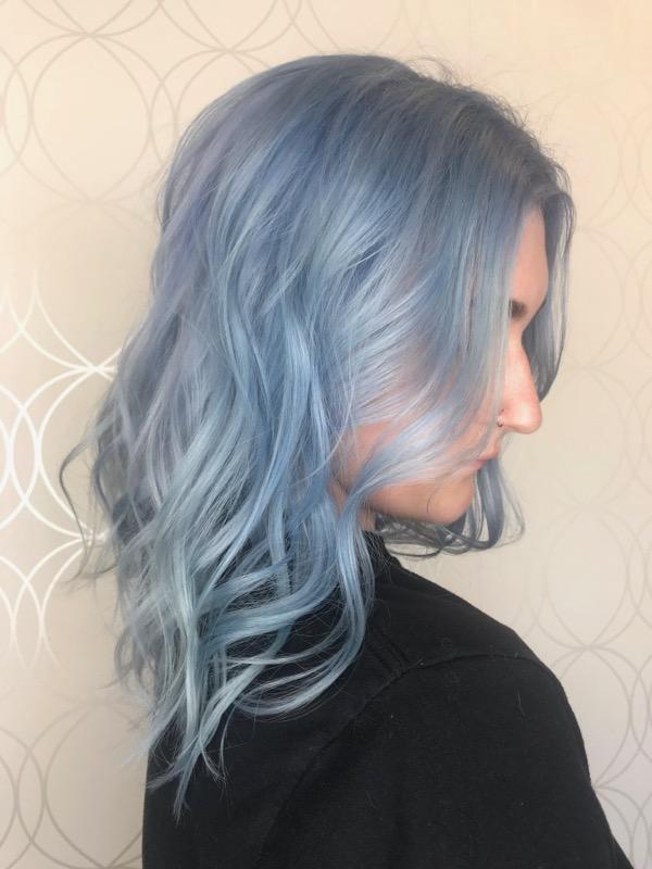 Denim Blue Haircolour