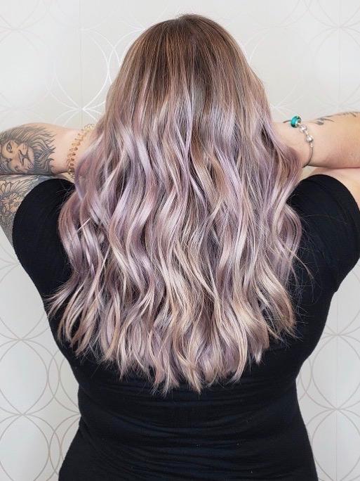 Lavender Blonde Vivid Haircolour