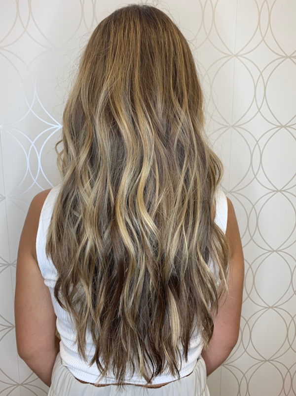 Highlights and Lowlight on Long Hair