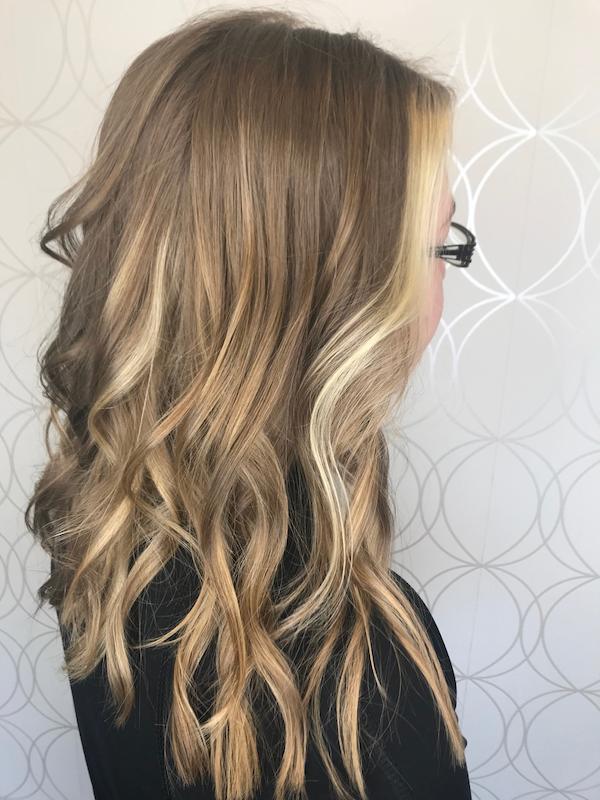 Blonde Money Piece Hair