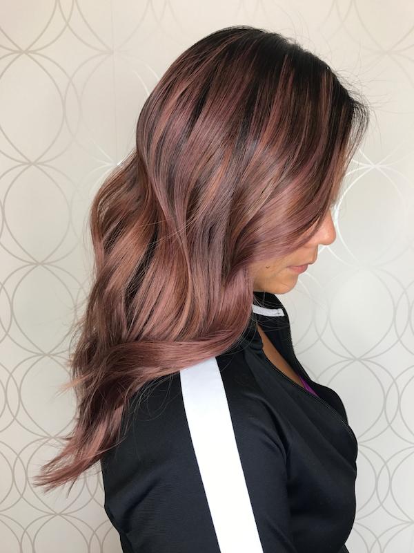 Rose Beige Hair