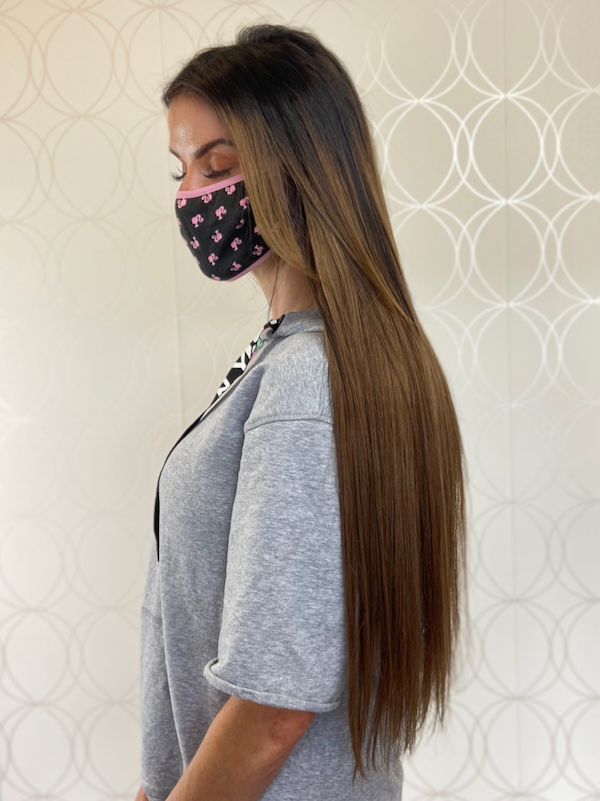 """Dòchas 24"""" Ombre Hand-tied Weft Extensions"""