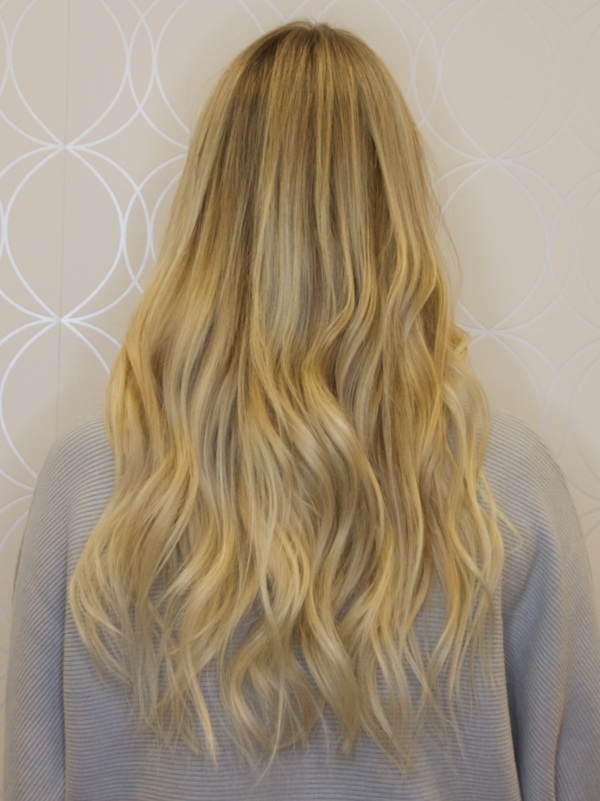 """20"""" Blonde Tape-In Extensions"""