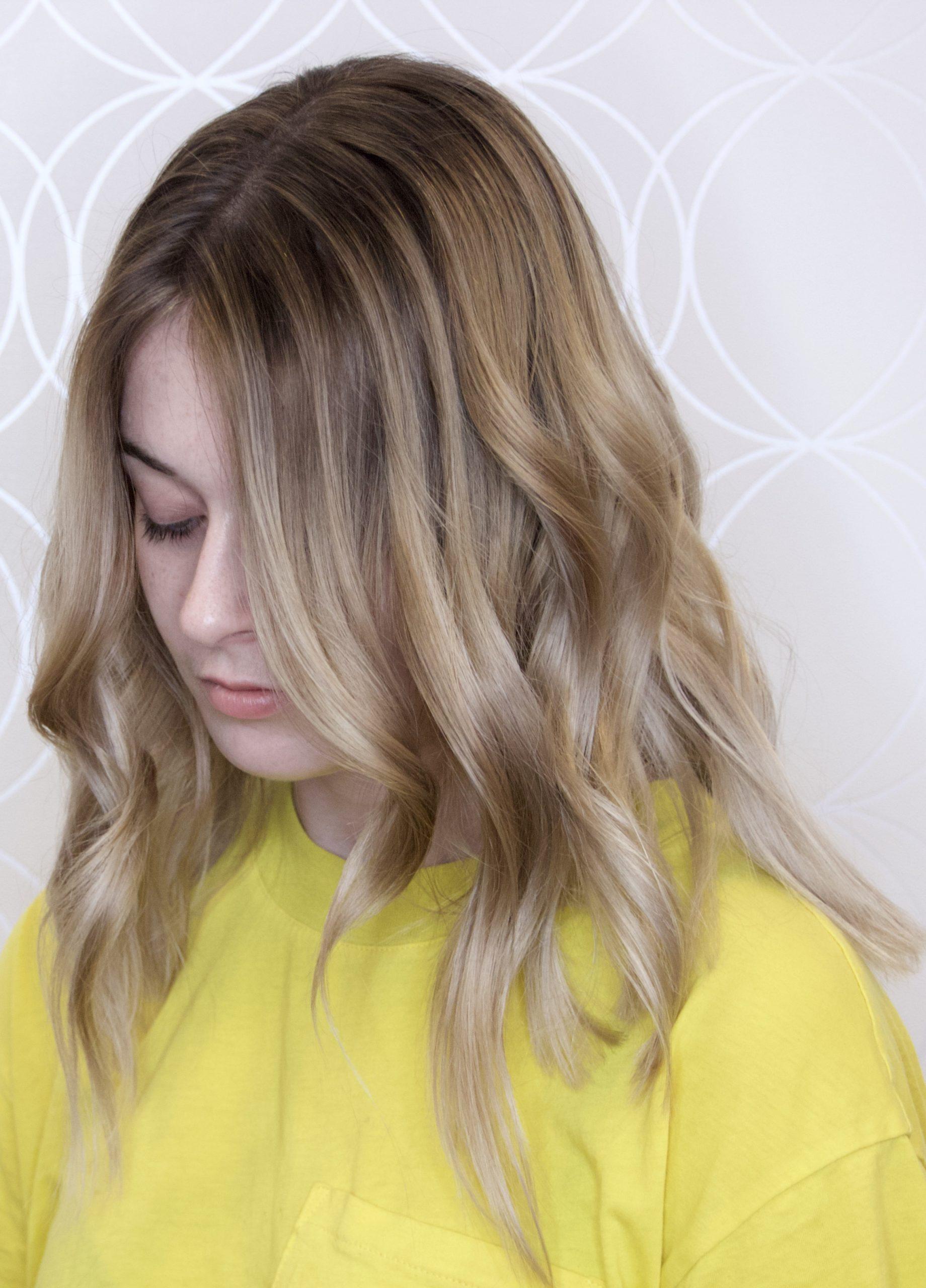 Box black to Blonde Haircolour Correction