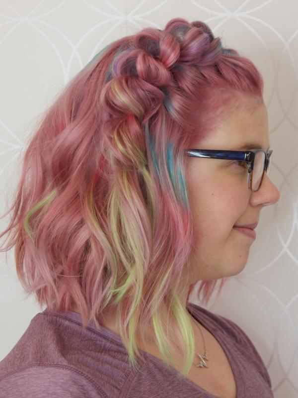 Dusty Rose Fashion Haircolour