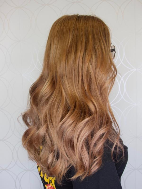 Copper Rose Gold Hair
