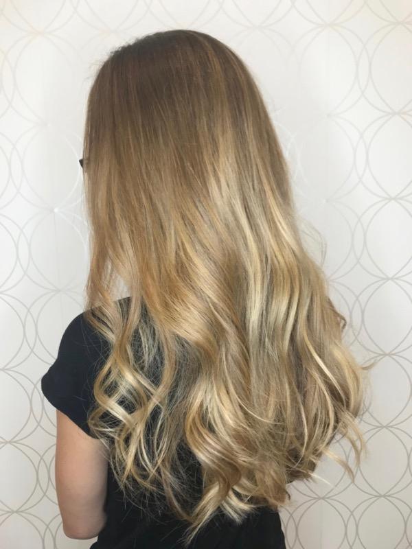 Natural Blonde Balayage